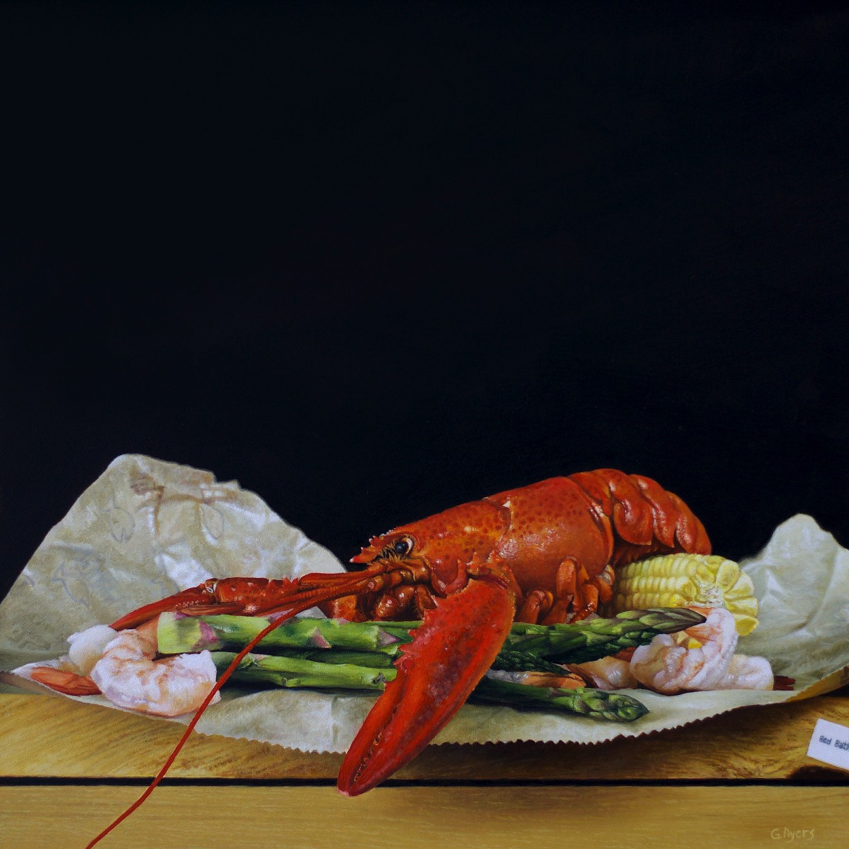 Lobster Boil - 10x10 - SOLD