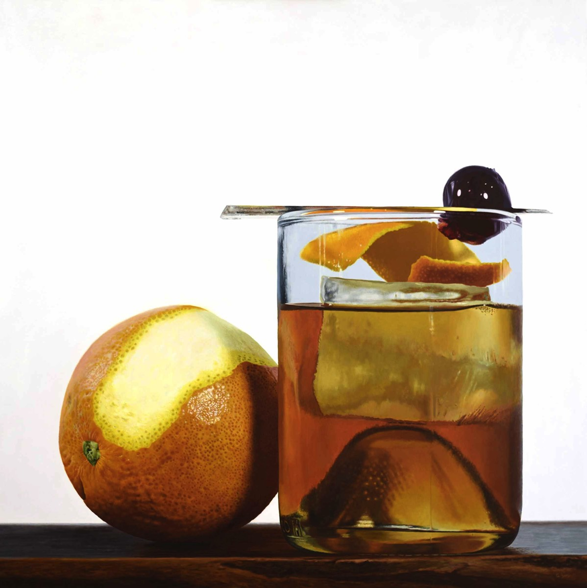 Old Fashioned - 40x40 - oil on panel - SOLD