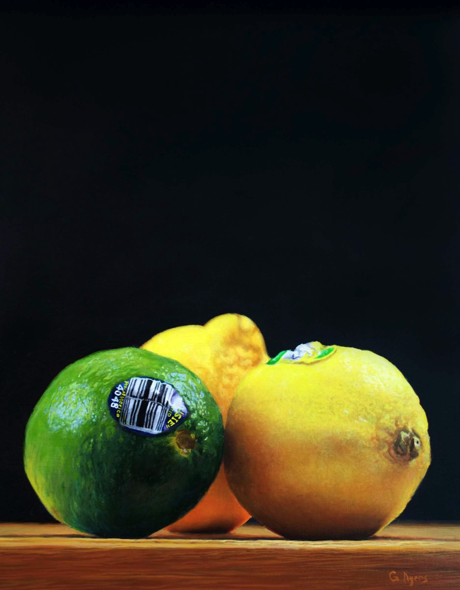 Lemony- 11x14 - oil on panel - SOLD
