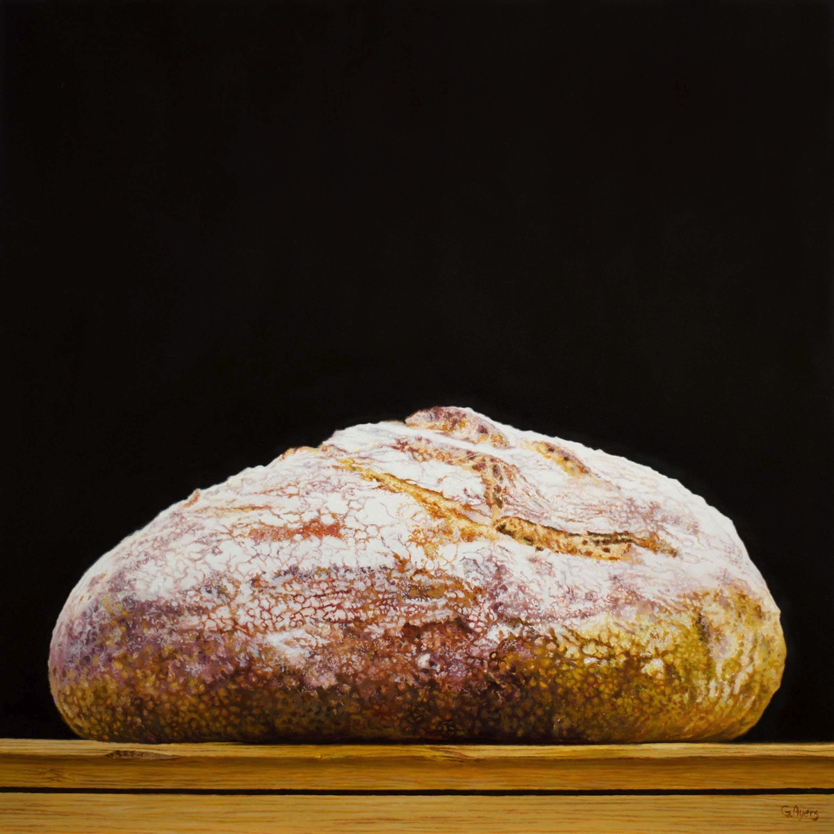 Bread - 12x12 - oil on panel - SOLD